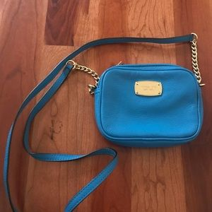 Michael Kors leather crossbody mini bag